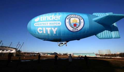 It's a match for Tinder & Manchester City FC