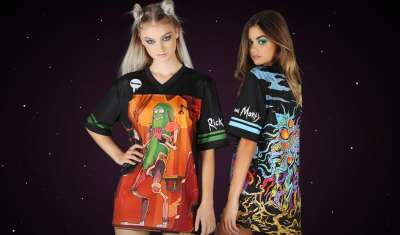 BLACKMILK INKS 'RICK AND MORTY' DEAL FOR NEW CLOTHING RANGE
